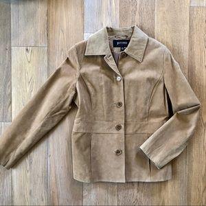 Pritti by Kristen Blake Suede Coat (Small)